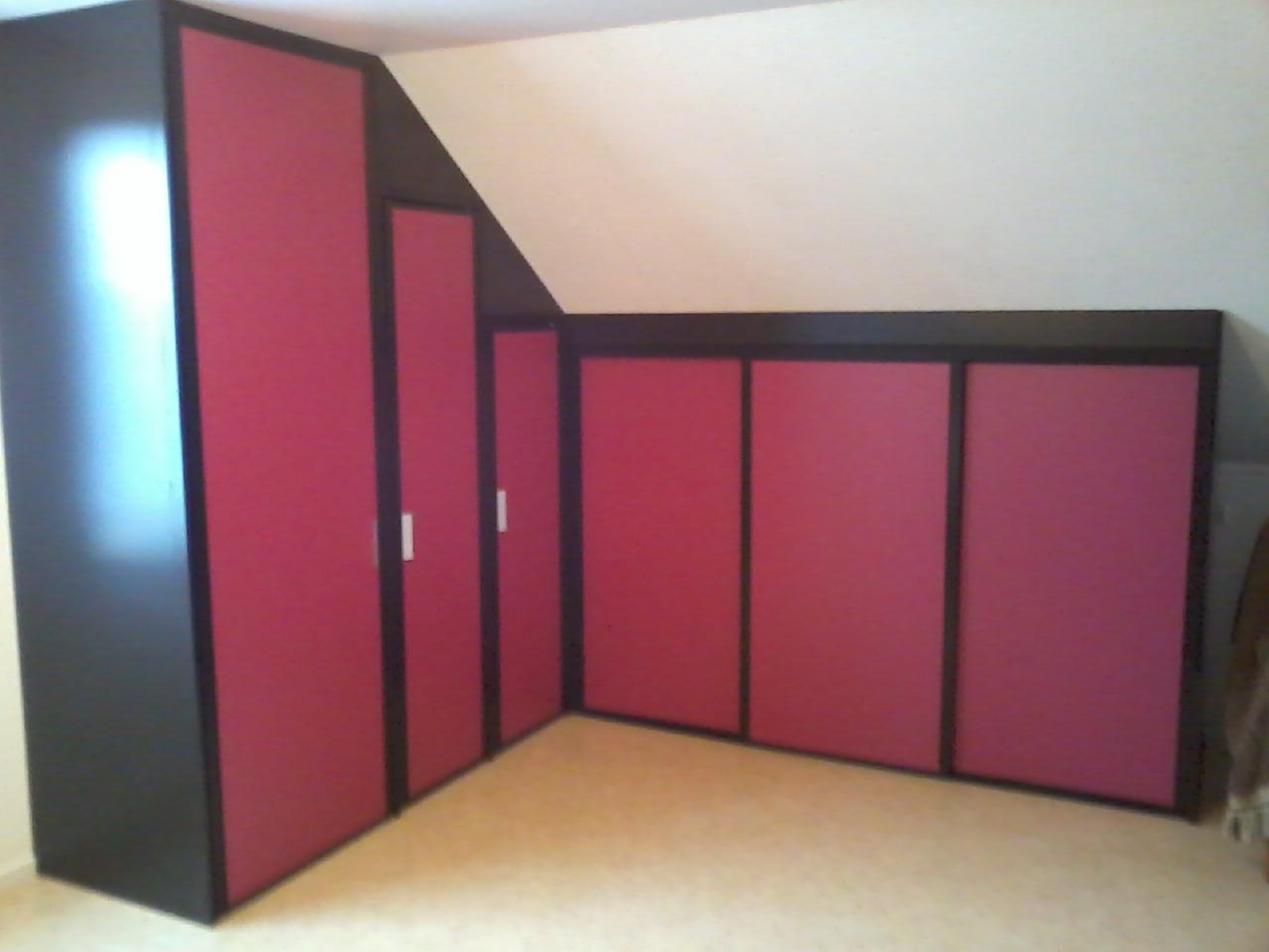 Placard Sous Mezzanine : Menuiserie dinquer intérieur